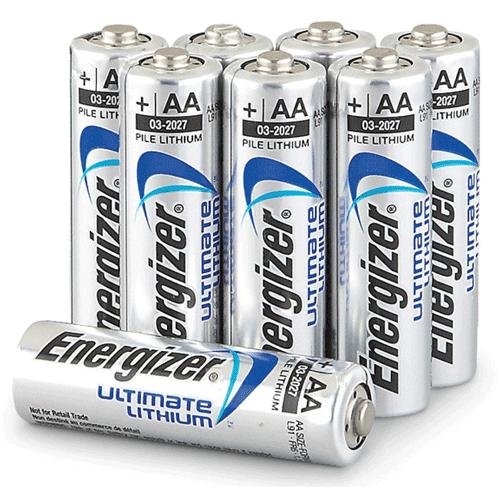 Energizer Aa Penlite Batterij 8 Pack Ultimate Lithium
