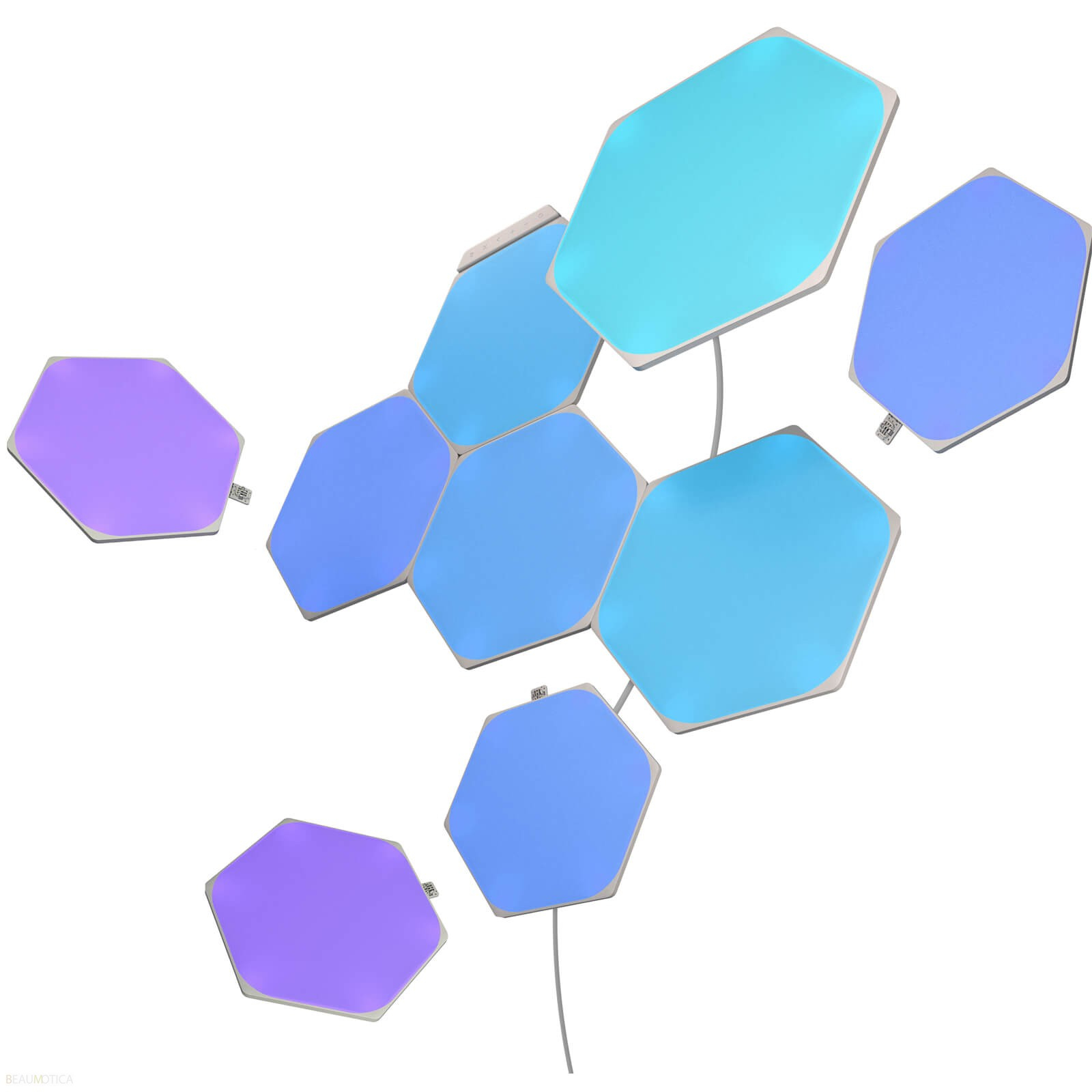 Nanoleaf Shapes Hexagon Starterkit set van 9 panelen