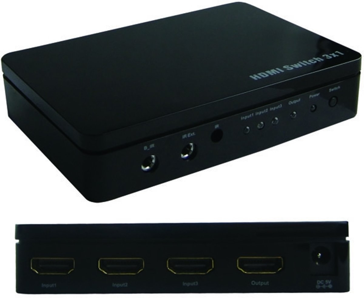 Ebode Hdmi Switch 3-1