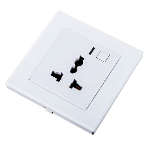 WiHouse Stopcontact Universeel Compleet Wit Wifi