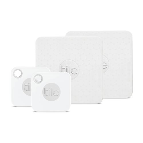 Tile Mate + Slim Combo 4 Pack Urb Keychain Tile