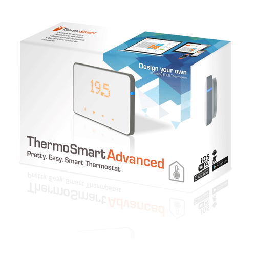 Thermosmart Wandthermostaat Opentherm V2 Thermosmart Advanced