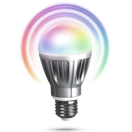 Zipato E27 Rgbw Led Lamp EOL