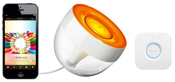 Philips Hue Iris Starter Pack 1 Lamp Met 2.0 Bridge