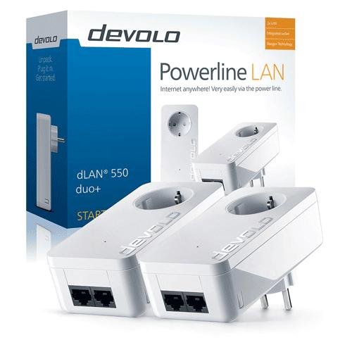 Devolo Dlan 550 Duo Plus