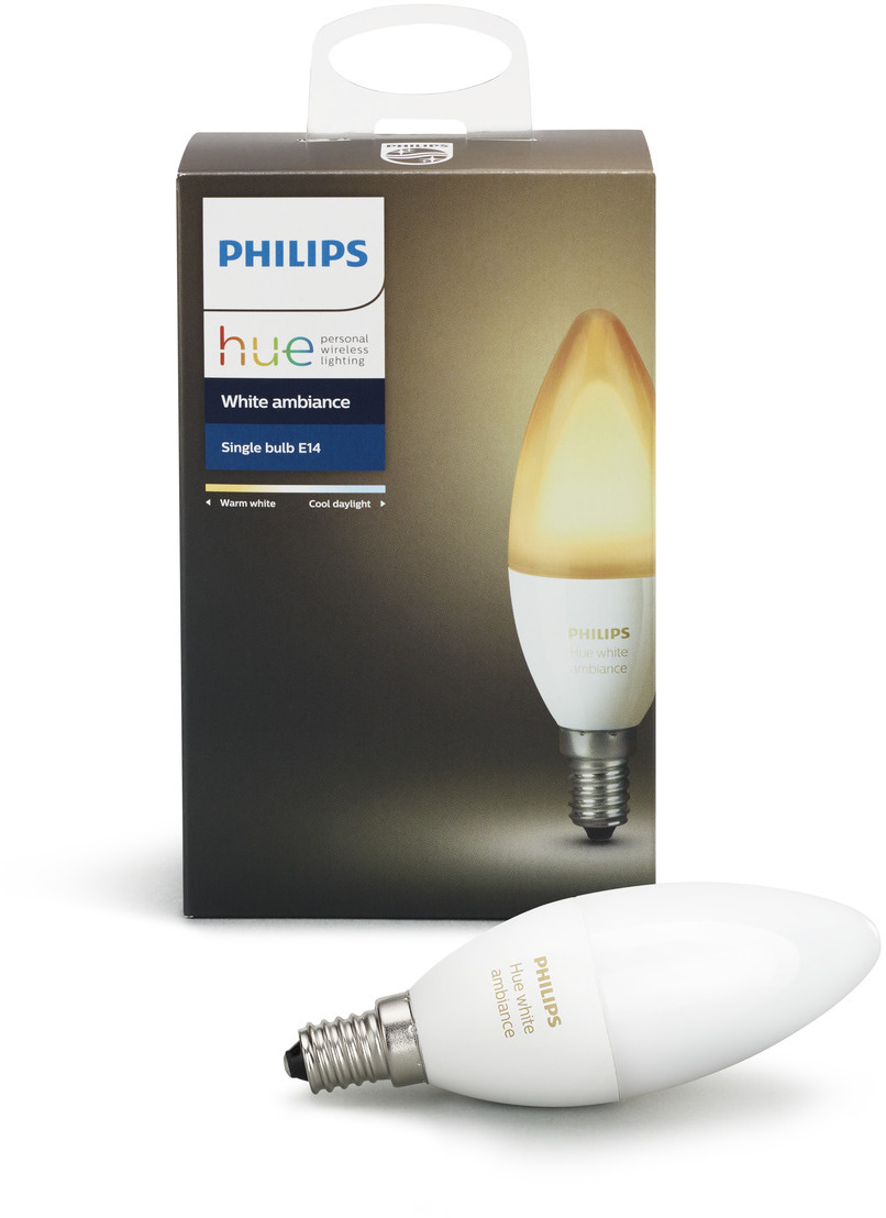 Philips Hue E14 Lux Warm Wit Ambiant Kleur