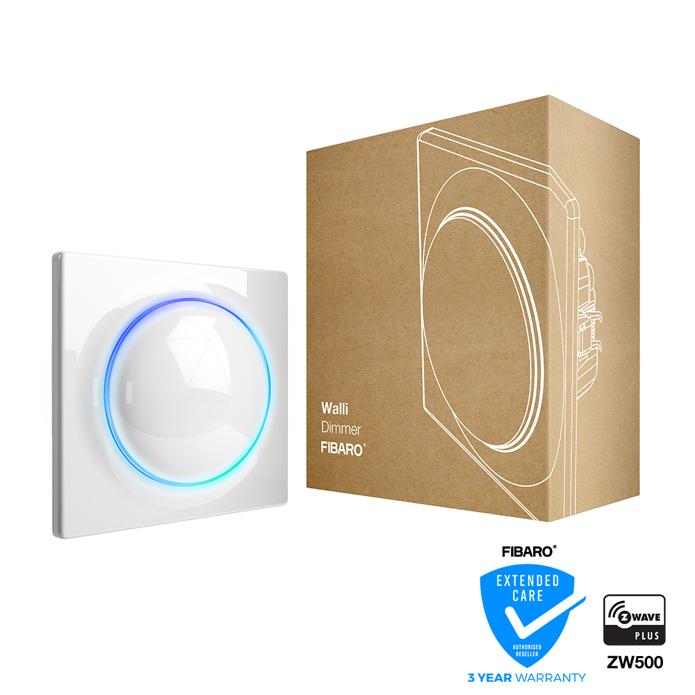 FIBARO Dimmer 350W Walli Z-Wave Plus 10 pack