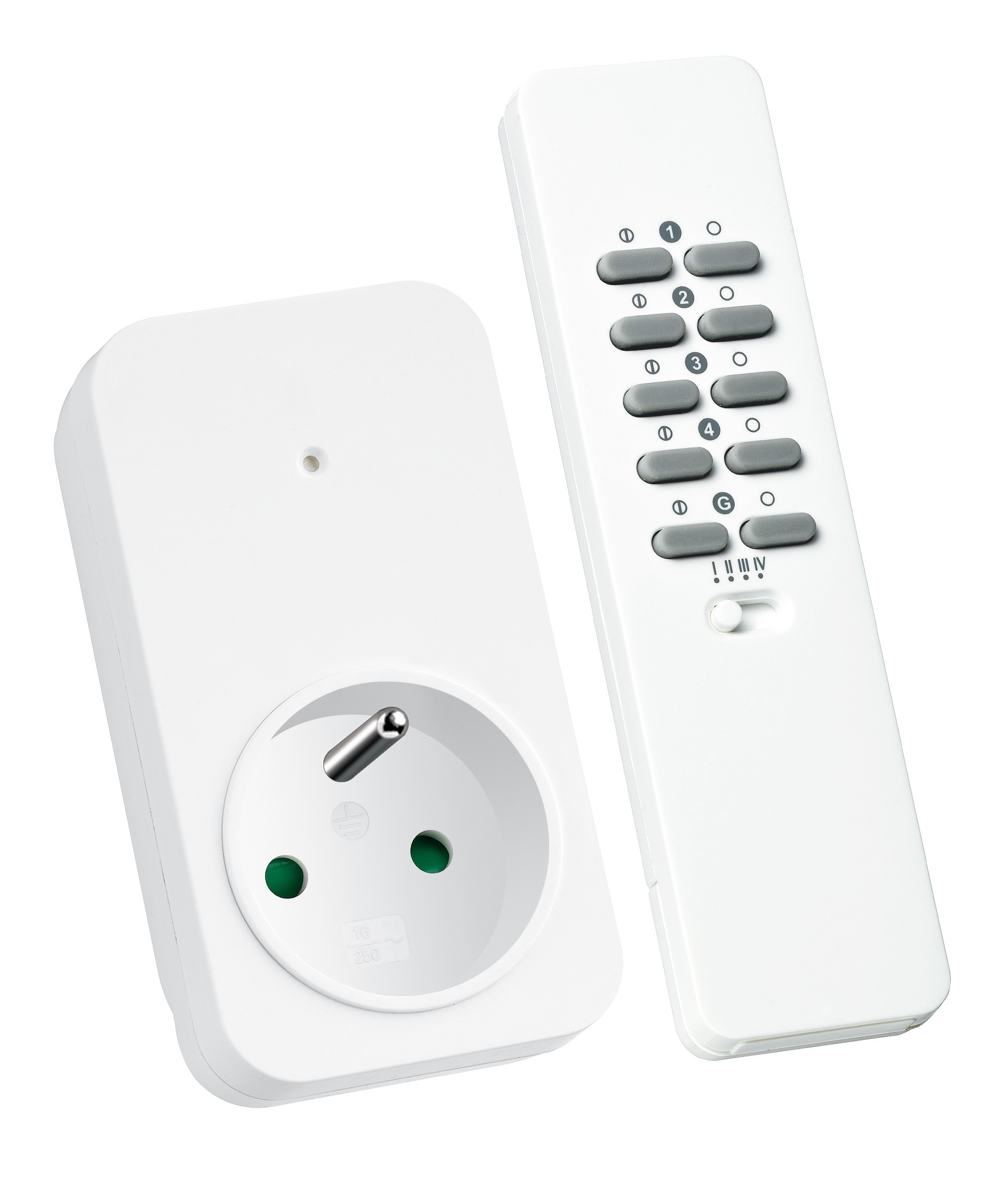 Klik-Aan-Klik-Uit Wallplug Smart Switch Set 1000w Be