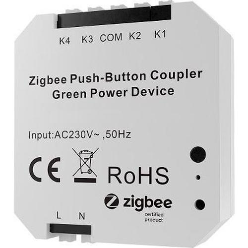 ROBB Smarrt 4 kanaals Z-wave inbouwmodule