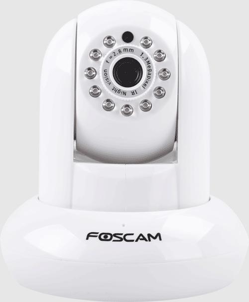 Foscam 1.3mp Pt Indoorcamera White Eol