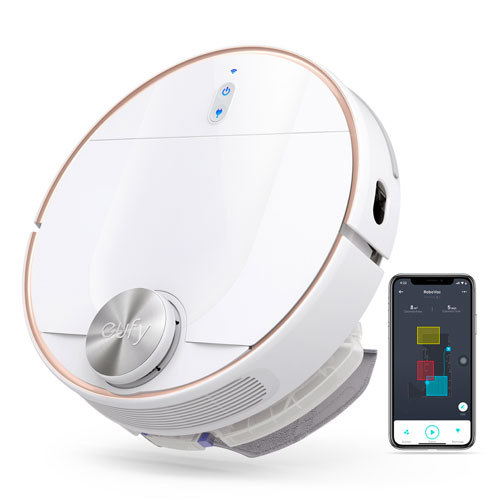 Eufy Robotcleaner and Mob L70