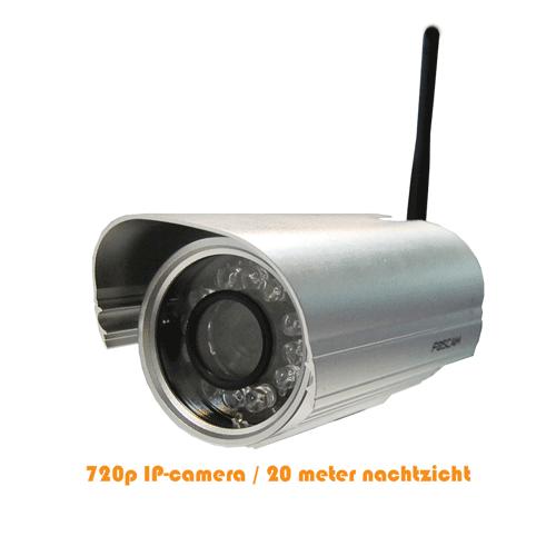 Foscam 1mp Buitencamera Fi9804w Zilver Eol