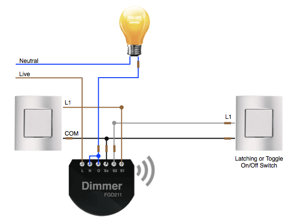 4 gang 1 way switch wiring diagram images switch uk 4 way light when u want to make a dimmable two gang light system take look at