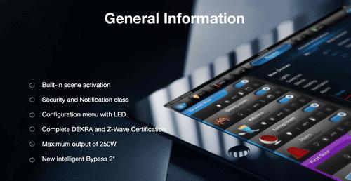 FIBARO FGD-212 dimmer module 2 met z-wave plus