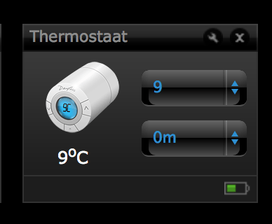 FIBARO Danfoss thermostaat