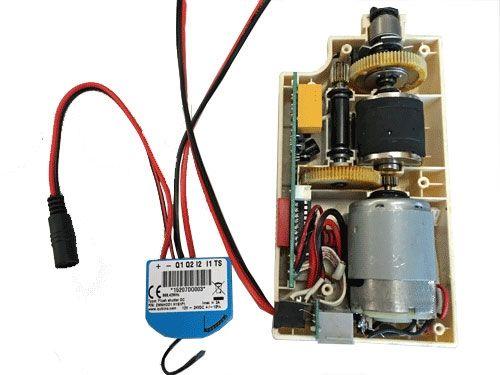 Elektrisch gordijnsysteem Kallox met qubino positie bepaling