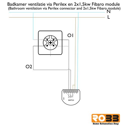 Ikea Badkamer Wastafels ~ Optie 2  Z wave badkamer ventilatie schakeling op basis van 0 10Volt