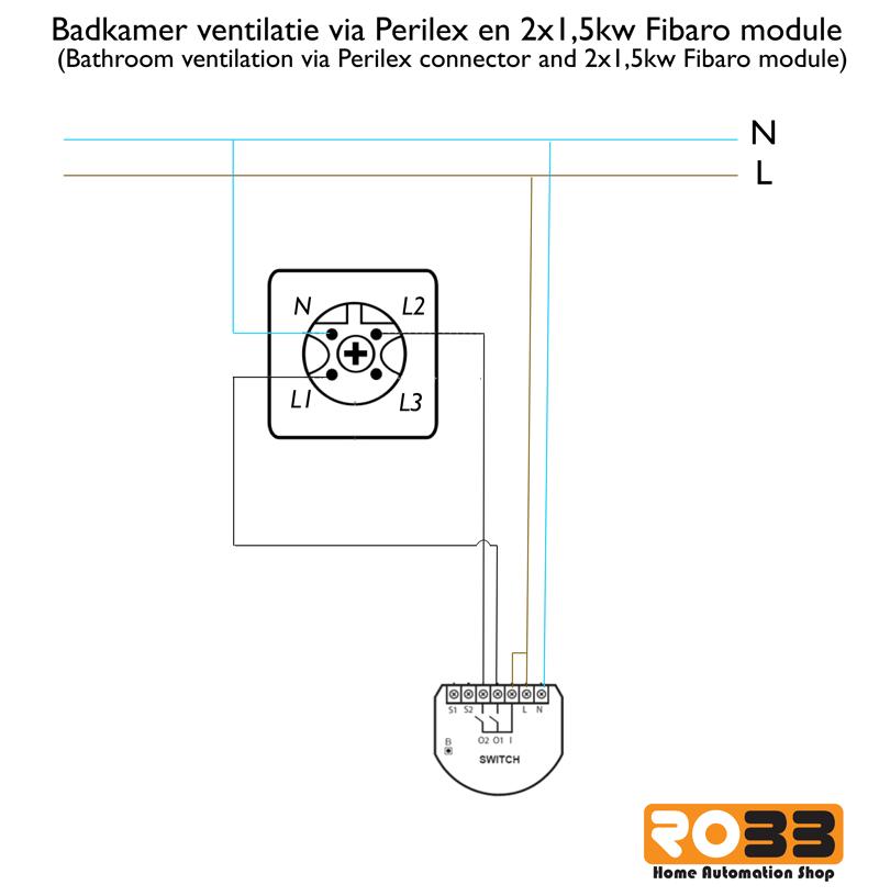 Domotica Project | Automatische Badkamer Ventilatie - ROBBshop