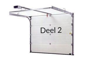 In dit 2e deel gaan we de elektrische garagedeur voorzien van positiebepaling
