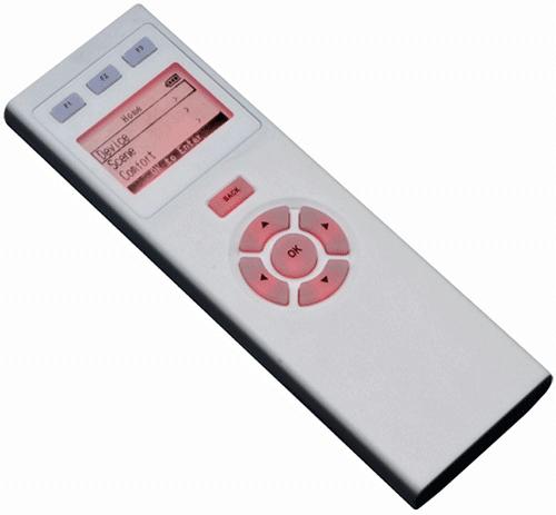 Z-wave afstandsbedieningen werkt net als gewone infrarood afstandsbedieningen, met als verschil dat ze z-wave signalen zenden.