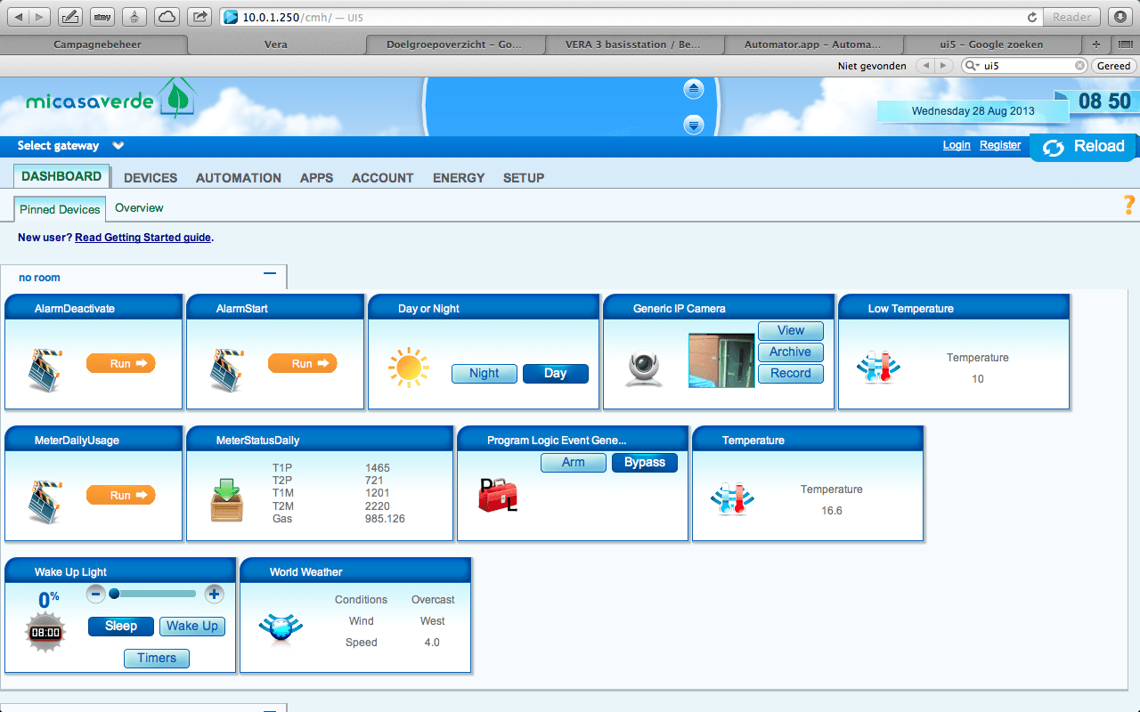 User Interface 5 vera (UI5)