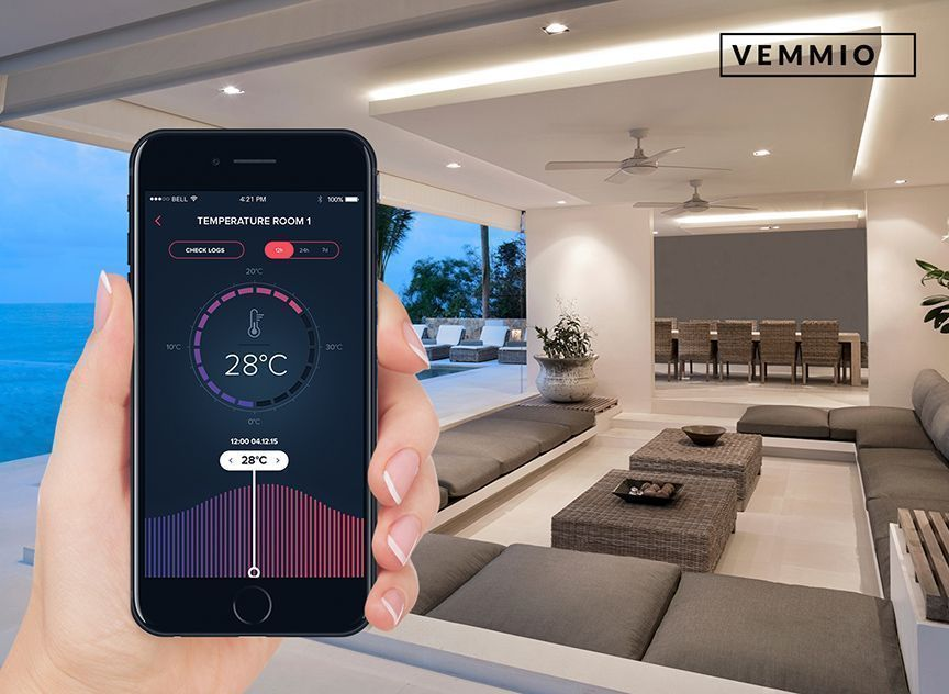 Vemmio 2in1 Roomsensor Z-wave plus