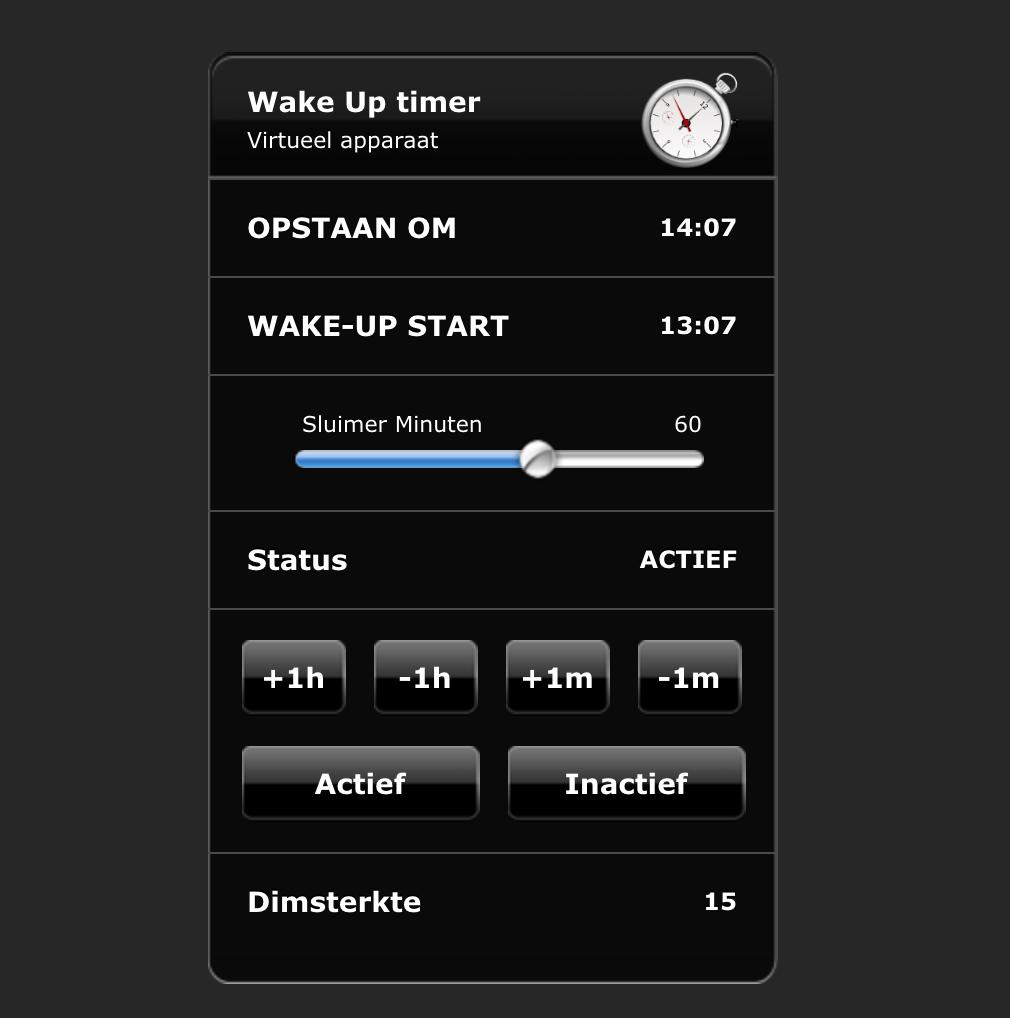 Wake-Up scene