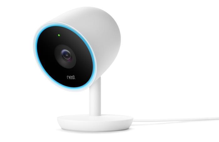 Nest IQ cam Blue LED