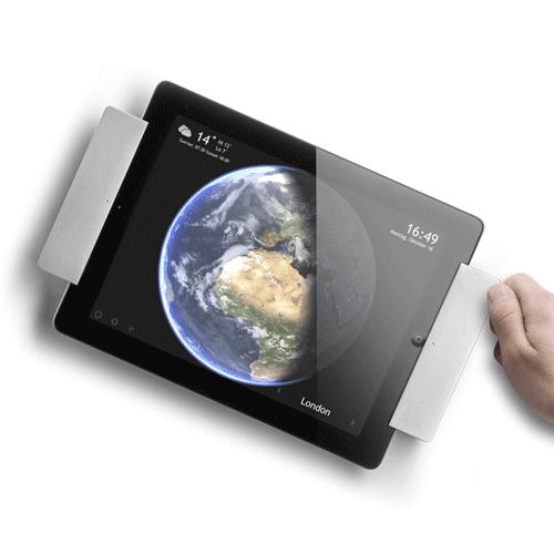 Sdock iPad Air draaibare muurbeugel met lightnig oplader