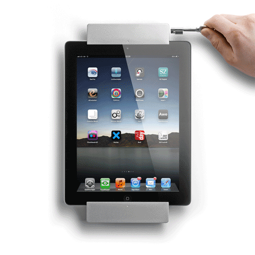sdock pro ipad 2 houder met 30 pins connector en slot. Black Bedroom Furniture Sets. Home Design Ideas